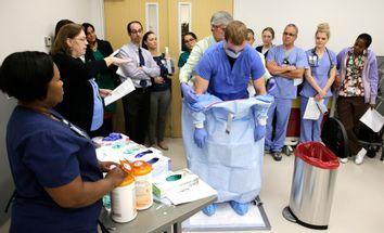 Ebola Training Photo Gallery