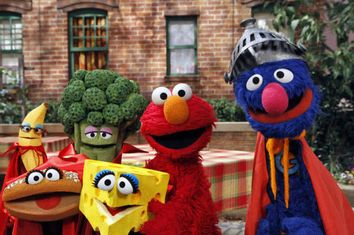 Sesame Street 45 Years