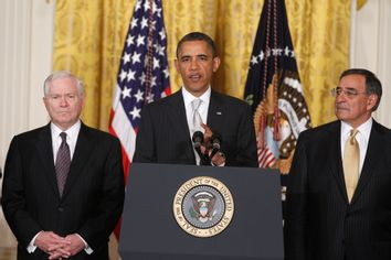 Barack Obama, Robert Gates, Leon Panetta