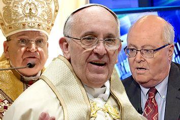 Cardinal Raymond Leo Burke, Pope Francis, Bill Donohue