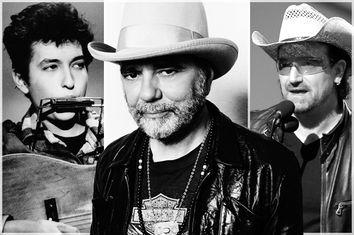 Bob Dylan, Daniel Lanois, Bono