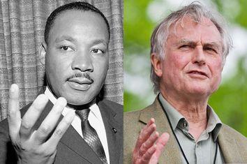 Martin Luther King Jr., Richard Dawkins