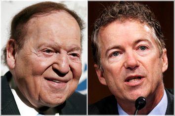 Sheldon Adelson, Rand Paul