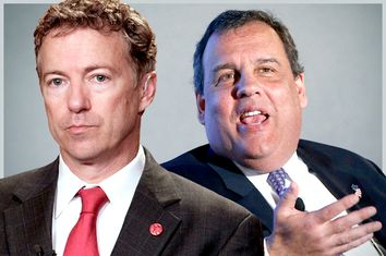 Rand Paul, Chris Christie