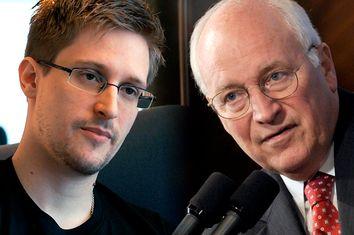 Edward Snowden, Dick Cheney