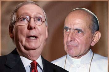 Mitch McConnell, Pope Paul VI