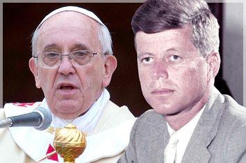 Pope Francis, John F. Kennedy