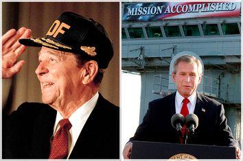 Ronald Reagan, George W. Bush