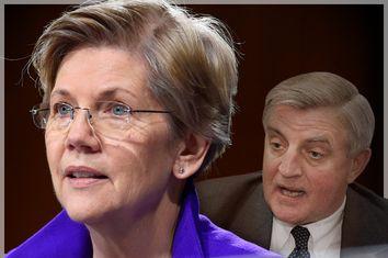 Elizabeth Warren, Walter Mondale