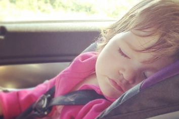 Child Asleep in Car
