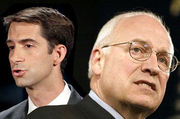 Tom Cotton, Dick Cheney