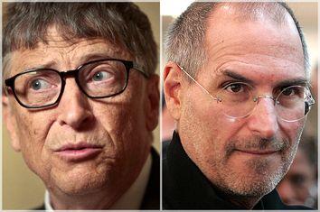 Bill Gates, Steve Jobs