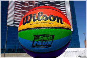 Rainbow Basketball