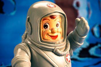 Smiling Astronaut