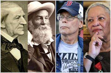 Ralph Waldo Emerson, Walt Whitman, Stephen King, Toni Morrison