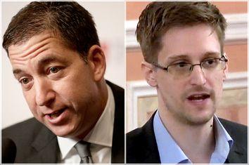 Glenn Greenwald, Edward Snowden