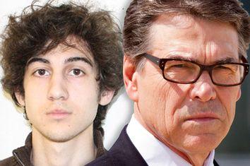 Dzhokhar Tsarnaev, Rick Perry