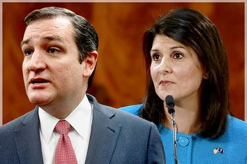 Ted Cruz, Nikki Haley