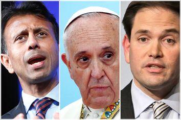 Bobby Jindal, Pope Francis, Marco Rubio