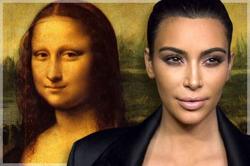 Mona Lisa Kim Kardashian