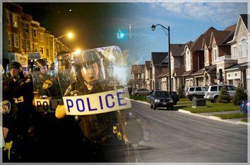 Police, Suburb
