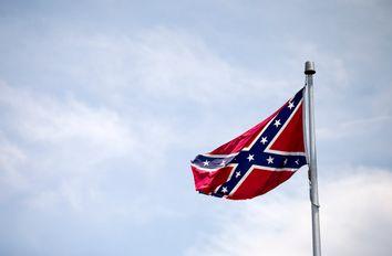 Stone Mountain Confederate Flags