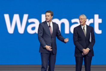 Doug McMillon, Rob Walton