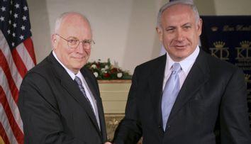 MIDEAST ISRAEL PALESTINIANS CHENEY