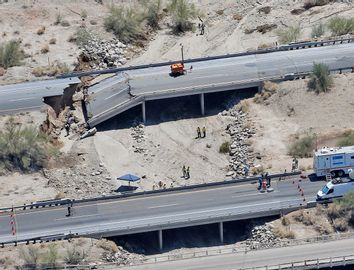 California Bridge Collapse