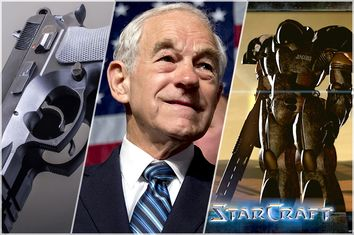 Gun, Ron Paul, StarCraft