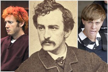James Holmes, John Wilkes Booth, Dylann Roof