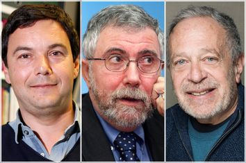 Thomas Piketty, Paul Krugman, Robert Reich