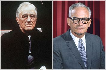 Franklin Roosevelt, Barry Goldwater