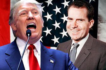 Donald Trump, Richard Nixon