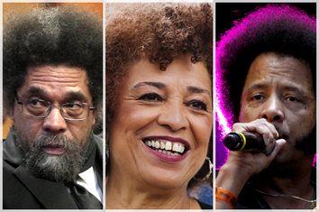 Cornel West, Angela Davis, Boots Riley