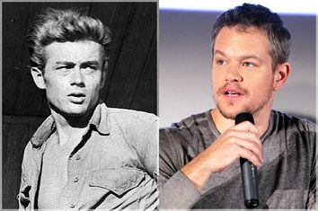 James Dean, Matt Damon