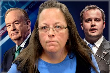 Bill O'Reilly, Kim Davis, Josh Duggar