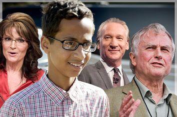 Sarah Palin, Ahmed Mohamed, Bill Maher, Richard Dawkins