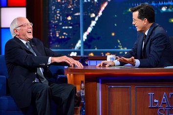 Bernie Sanders, Stephen Colbert