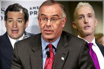 Ted Cruz, David Brooks, Trey Gowdy