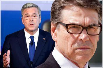 Jeb Bush, Rick Perry