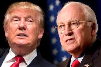 Donald Trump, Dick Cheney