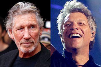 Roger Waters, Jon Bon Jovi