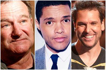 Robin Williams, Trevor Noah, Dane Cook
