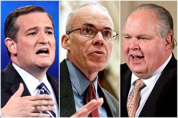 Ted Cruz, Bill McKibben, Rush Limbaugh