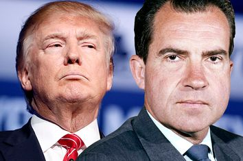 Donald Trump, Richard Nixon