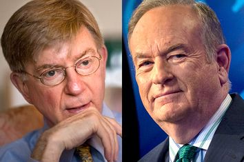 George Will, Bill O'Reilly