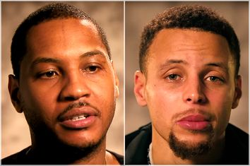 Carmelo Anthony, Stephen Curry