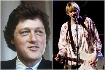 Bill Clinton, Kurt Cobain