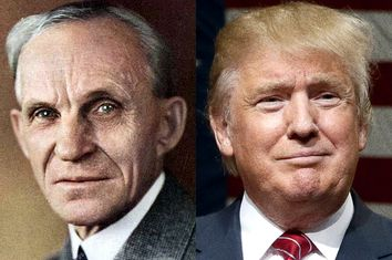 Henry Ford, Donald Trump